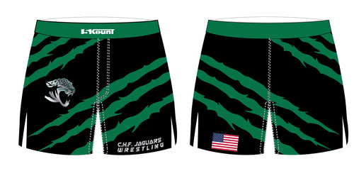 C.H.F. Jaguards Wrestling Sublimated Board Shorts