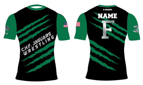 C.H.F. Jaguards Wrestling Sublimated Compression Shirt