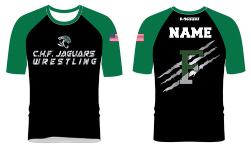 C.H.F. Jaguards Wrestling Sublimated Fight Shirt