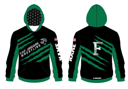 C.H.F. Jaguards Wrestling Sublimated Hoodie