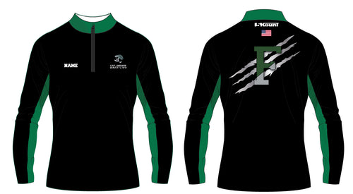 C.H.F. Jaguards Wrestling Sublimated Quarter Zip