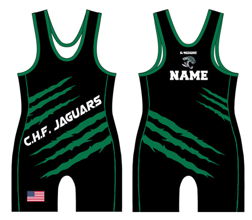C.H.F. Jaguards Wrestling Sublimated Singlet