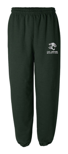 C.H.F. Jaguards Wrestling Cotton Sweatpants - Forest
