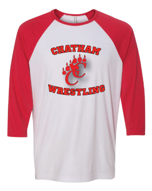 Chatham HS Wrestling Baseball Shirt