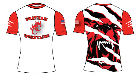 Chatham HS Wrestling Sublimated Compression Shirt