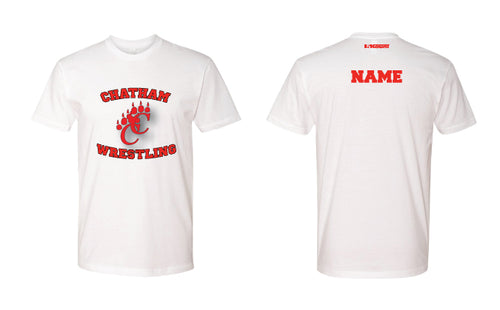Chatham HS Wrestling Cotton Crew Tee