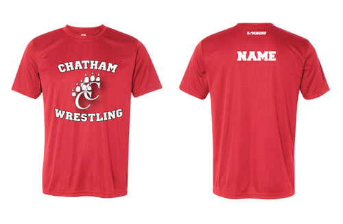 Chatham HS Wrestling DryFit Performance Tee