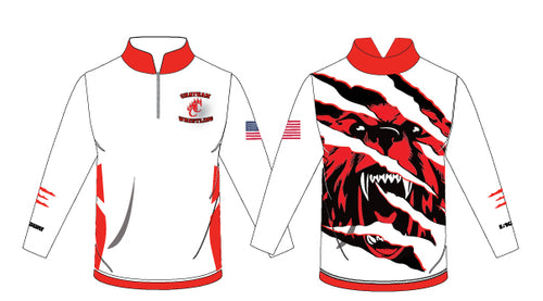 Chatham HS Wrestling Sublimated Quarter Zip