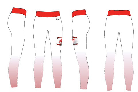 Chatham HS Wrestling Sublimated Ladies Legging