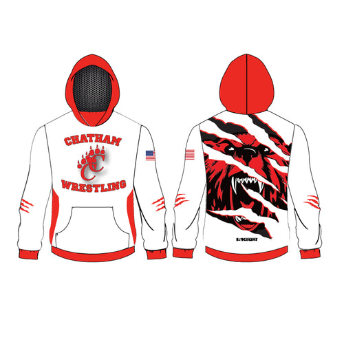 Chatham HS Wrestling Sublimated Hoodie