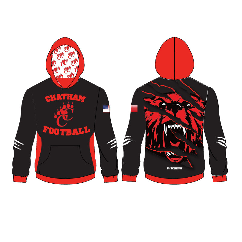 Chatham HS Football Sublimated Hoodie