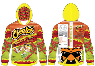 Flamin Hot Sublimated Hoodie - 5KounT2018