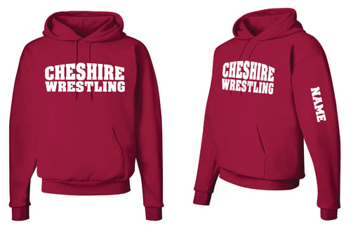 Cheshire Rams Cotton Hoodie - Red - 5KounT