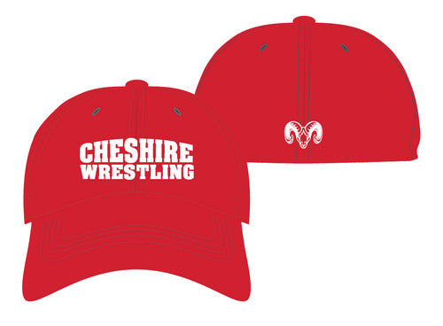 Cheshire Rams FlexFit Cap - Red - 5KounT