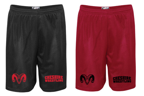 Cheshire Rams Tech Shorts - Red or Black - 5KounT