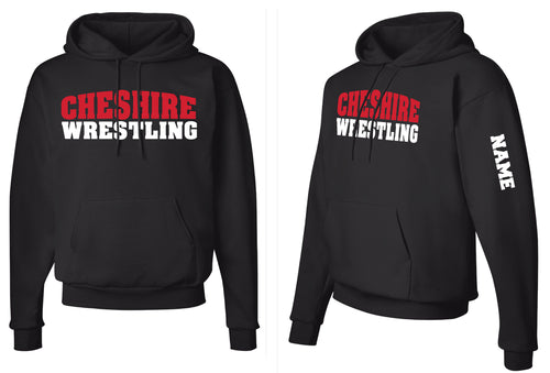 Cheshire Rams Cotton Hoodie - Black - 5KounT