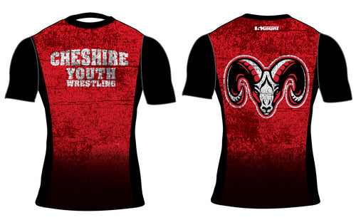 Cheshire Youth Sublimated Compression Shirt - 5KounT2018