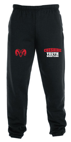 Cheshire Youth Cotton Sweatpants - Black