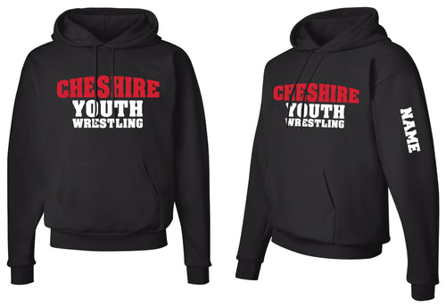 Cheshire Youth Cotton Hoodie - Black