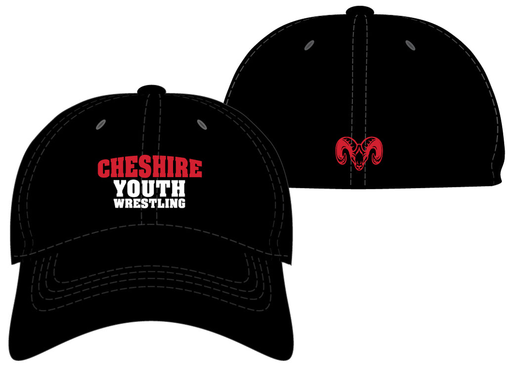 Cheshire Youth FlexFit Cap - Black