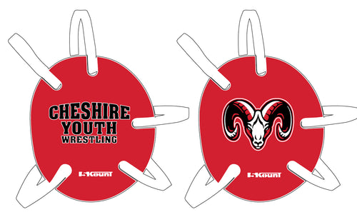 Cheshire Youth Wrestling Headgear- Red - 5KounT2018
