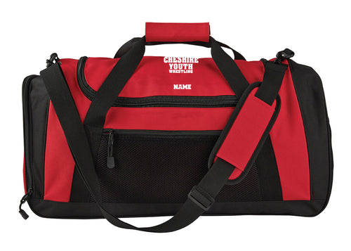 Cheshire Youth Sports Duffle - Red