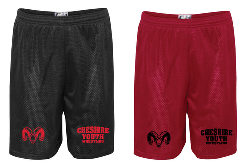 Cheshire Youth Tech Shorts - Red or Black - 5KounT2018