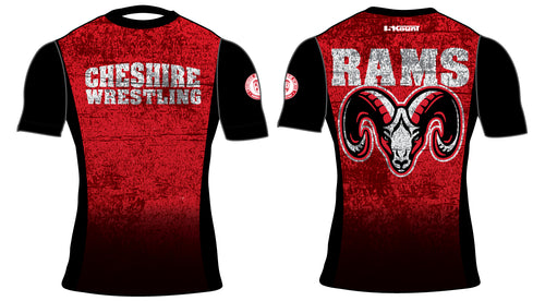 Cheshire Rams Sublimated Compression Shirt - 5KounT