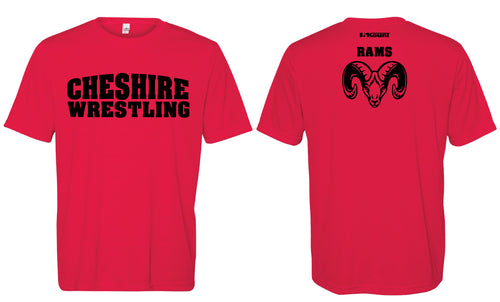 Cheshire Rams DryFit Performance Tees - Black or Red - 5KounT