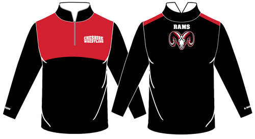 Cheshire Rams Sublimated Quarter Zip - 5KounT