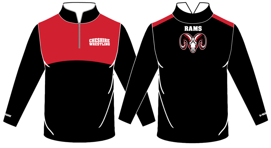 Cheshire Rams Sublimated Quarter Zip