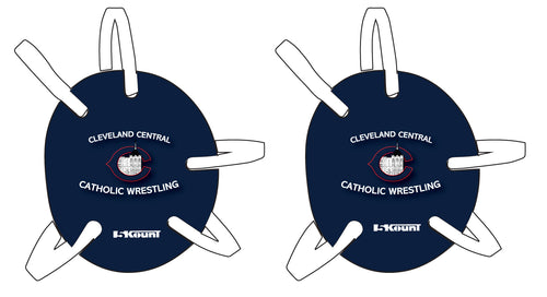 Cleveland Central Catholic Wrestling Headgear Decal