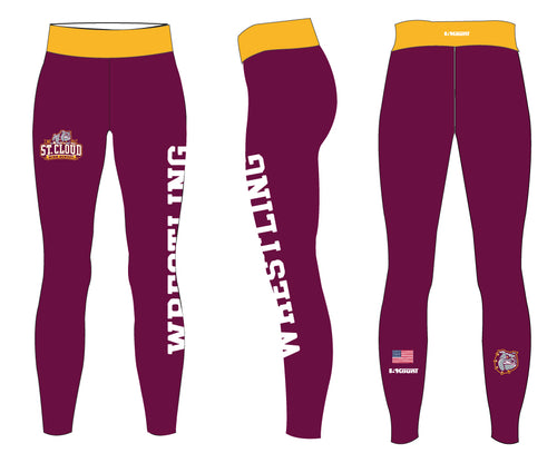 St. Cloud HS Wrestling Sublimated Ladies Legging