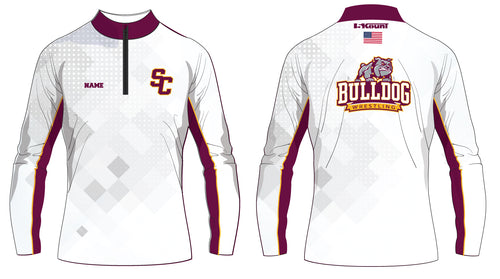 St. Cloud HS Wrestling Sublimated Quarter Zip