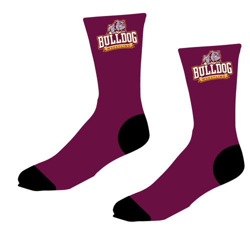 St. Cloud HS Wrestling Sublimated Socks