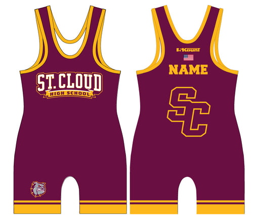 St. Cloud HS Wrestling Sublimated Singlet