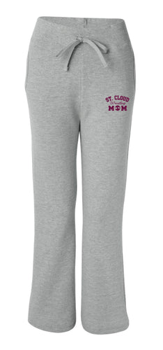 St. Cloud HS Wrestling Women's Sweatpants - Heather Grey
