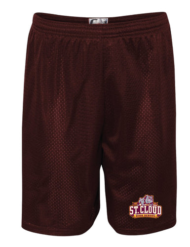 St. Cloud HS Wrestling Tech Shorts - Maroon