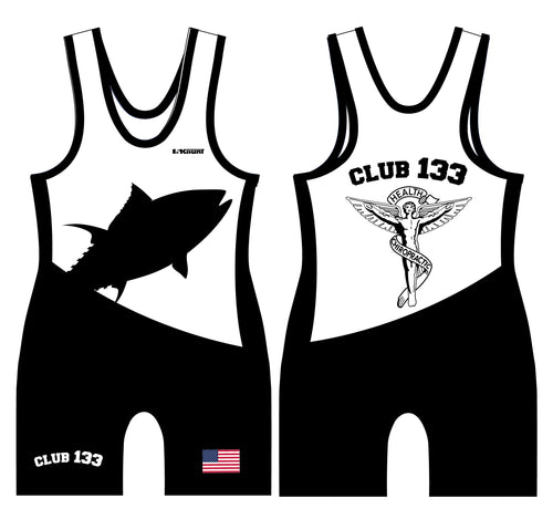 Club 133 Sublimated Men's Singlet - Black