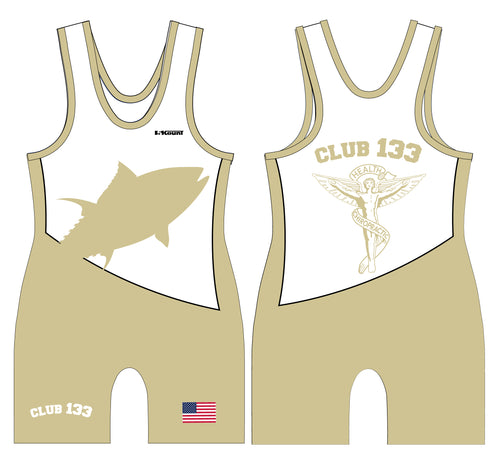 Club 133 Sublimated Men's Singlet - Gold