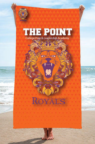 The Point Sublimated Beach Towel