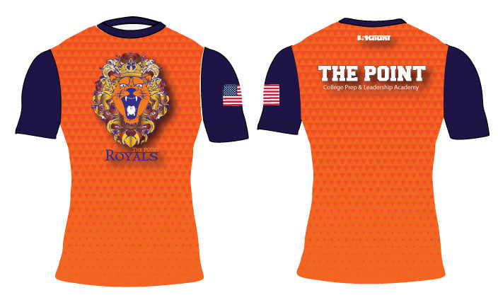 The Point Sublimated Compression Shirt