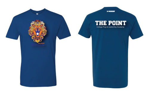 The Point Cotton Crew Tee - Blue