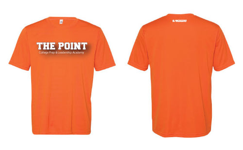The Point DryFit Performance Tee - Orange