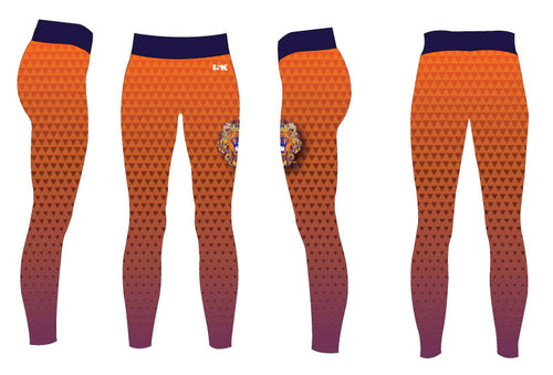 The Point Sublimated Ladies Legging