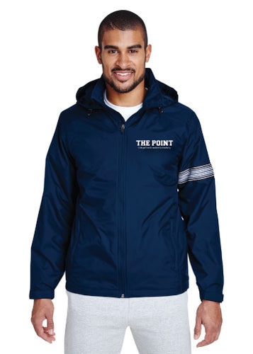 The Point All Season Hooded Jacket - Navy