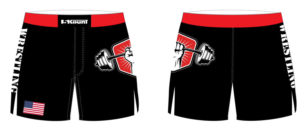 Colonial HS Weightlifting Sublimated Board Shorts
