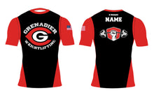 Colonial HS Weightlifting Sublimated Compression Shirt