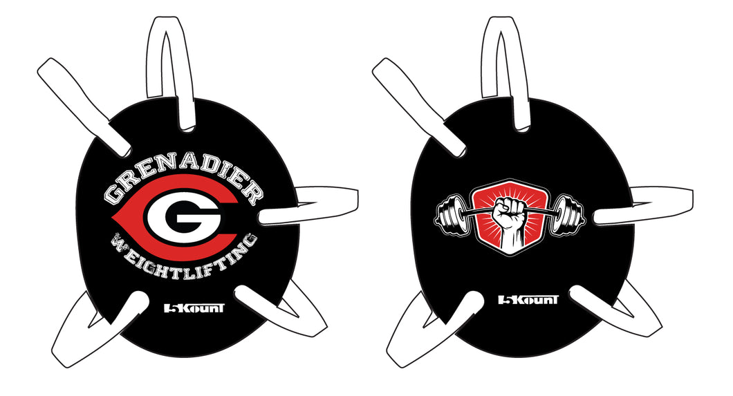 Colonial HS Weightlifting Wrestling Headgear Decal