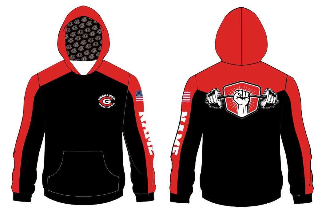 Colonial HS Weightlifting Sublimated Hoodie - 5KounT2018